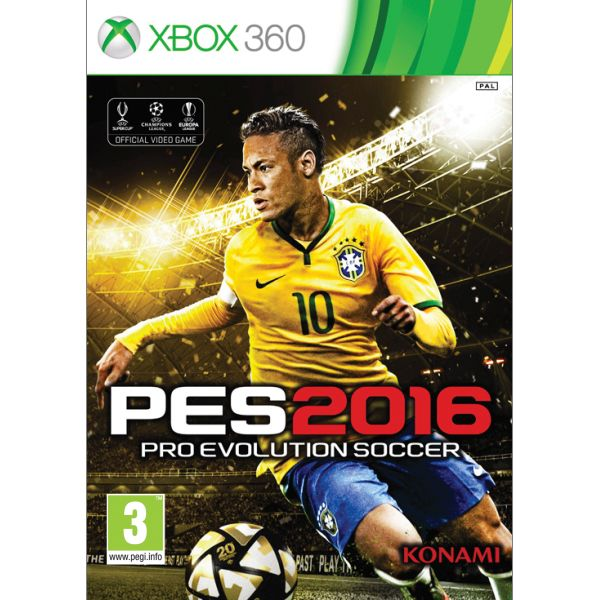 PES 2016: Pro Evolution Soccer [XBOX 360] - BAZÁR (použitý tovar)