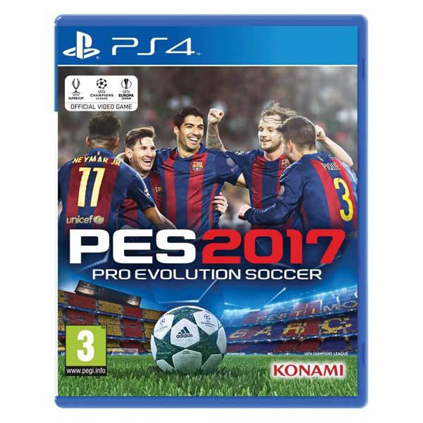 PES 2017: Pro Evolution Soccer [PS4] - BAZÁR (použitý tovar)