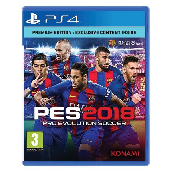 PES 2018: Pro Evolution Soccer [PS4] - BAZÁR (použitý tovar)
