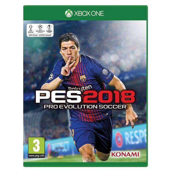 PES 2018: Pro Evolution Soccer XBOX ONE