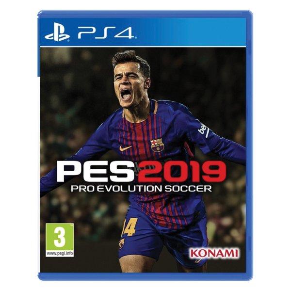 PES 2019: Pro Evolution Soccer [PS4] - BAZÁR (použitý tovar)