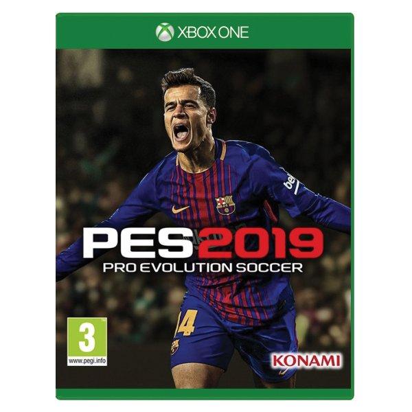 PES 2019: Pro Evolution Soccer [XBOX ONE] - BAZÁR (použitý tovar)