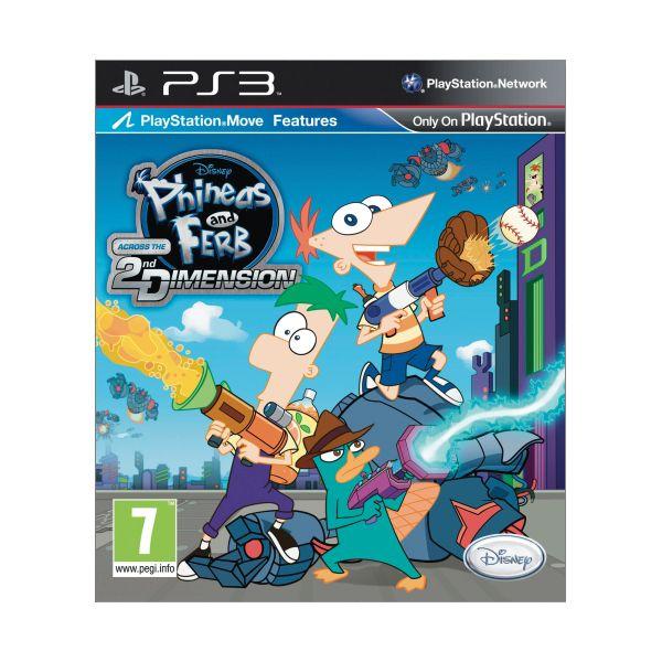 Phineas and Ferb: Across the 2nd Dimension [PS3] - BAZÁR (použitý tovar)