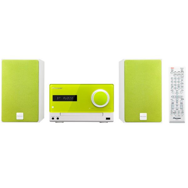 Pioneer X-CM35, mikrosyst�m  Casual Micro, Lime green
