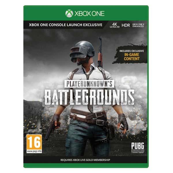 PlayerUnknown's Battlegrounds 1.0 [XBOX ONE] - BAZÁR (použitý tovar)