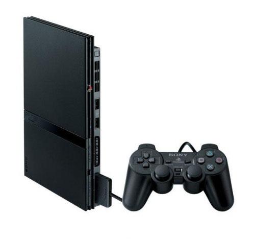 Playstation 2K Slim Black