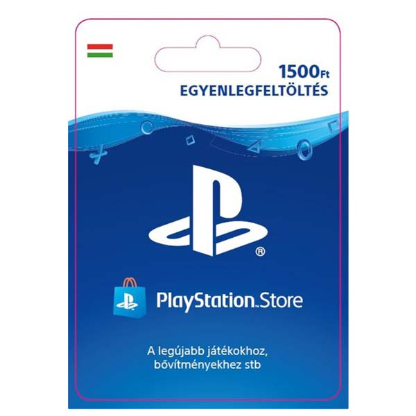 Playstation Plus kártya 1500 HUF (Sony PlayStation Network Card HU ESD)