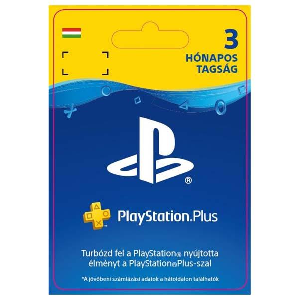 Playstation Plus kártya 3 hónapos (Sony PlayStation Plus: 3 Month Membership HU ESD)