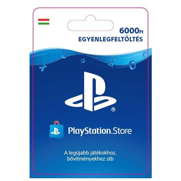 Playstation Plus kártya 6000 HUF (Sony PlayStation Network Card HU ESD)