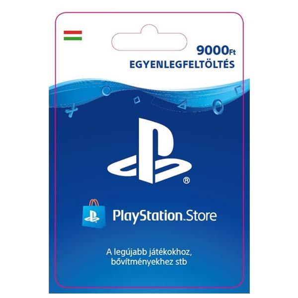 Playstation Plus kártya 9000 HUF (Sony PlayStation Network Card HU ESD)