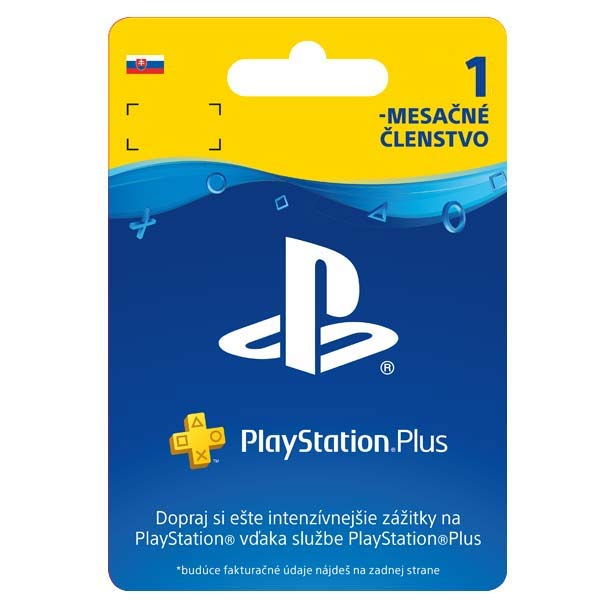 PlayStation Plus predplatné na 30 dní (SK ESD)