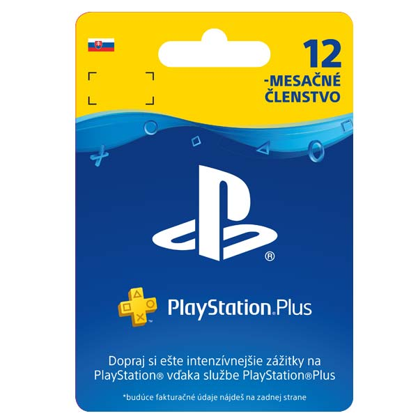 5326504397 PlayStation Plus predplatné na 365 dní SK