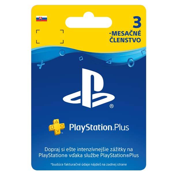 PlayStation Plus predplatné na 90 dní (SK ESD)