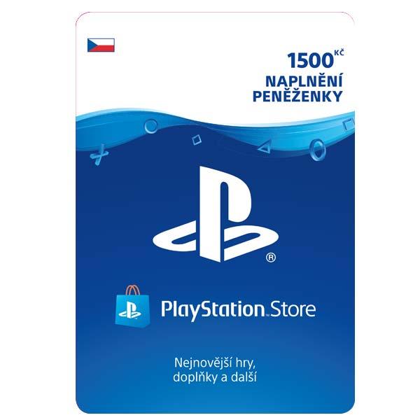 PlayStation Store 1500 Kè - elektronická peòaženka