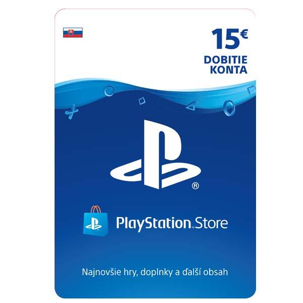 PlayStation Store 15€ - elektronická peòaženka