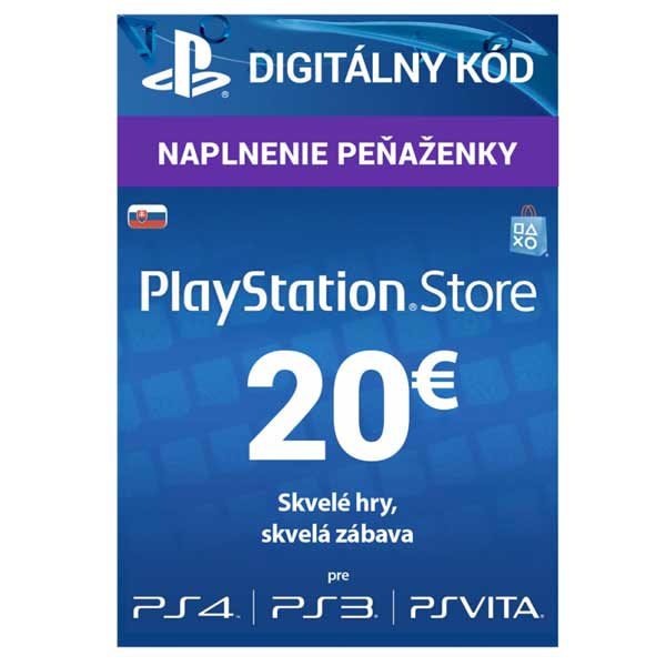 PlayStation Store 20€ CD-Key