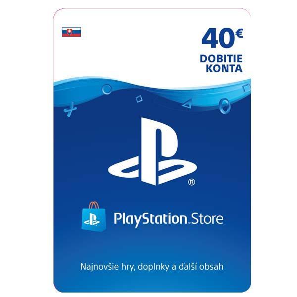 PlayStation Store 40€ - elektronická peòaženka