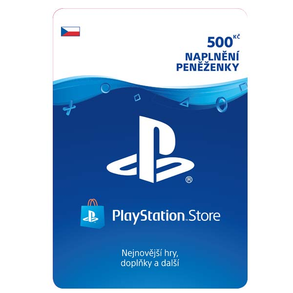 PlayStation Store 500 Kč CD-Key