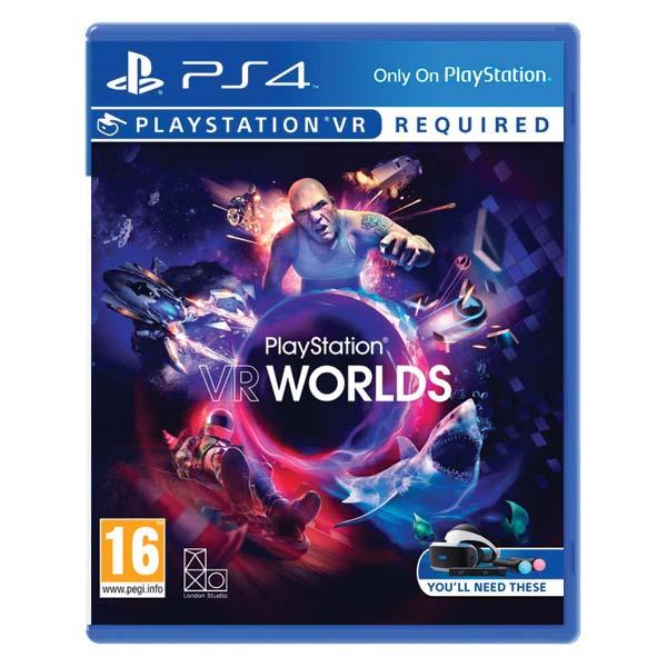 PlayStation VR Worlds [PS4] - BAZÁR (použitý tovar)