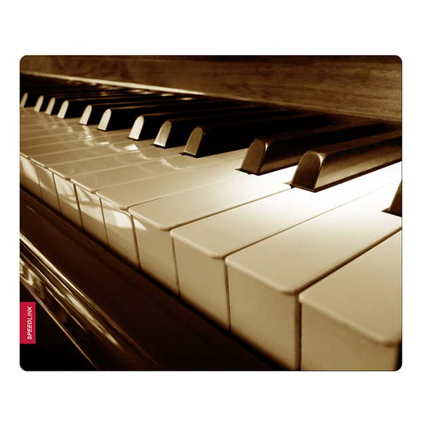 Podložka Speedlink Silk Mousepad, Piano