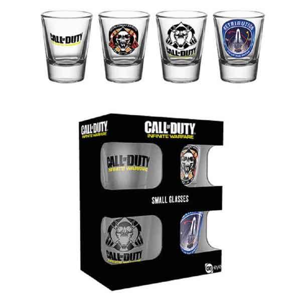 Poháriky Call of Duty Infinite Warfare Set (4 ks)