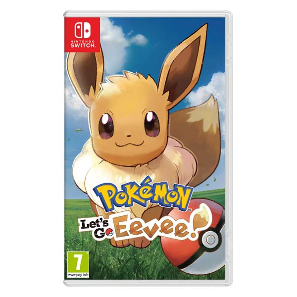 Pokémon: Let's Go, Eevee! [NSW] - BAZÁR (použitý tovar)