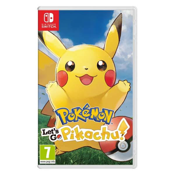 Pokémon: Let's Go, Pikachu! [NSW] - BAZÁR (použitý tovar)