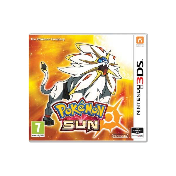 Pokémon Sun [3DS] - BAZÁR (použitý tovar)