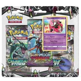 Pokémon TCG: Sun & Moon Celestial Storm 3 Blister Booster