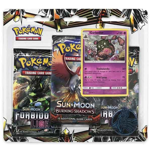 Pokémon TCG: Sun & Moon Forbidden Light 3 Blister Booster