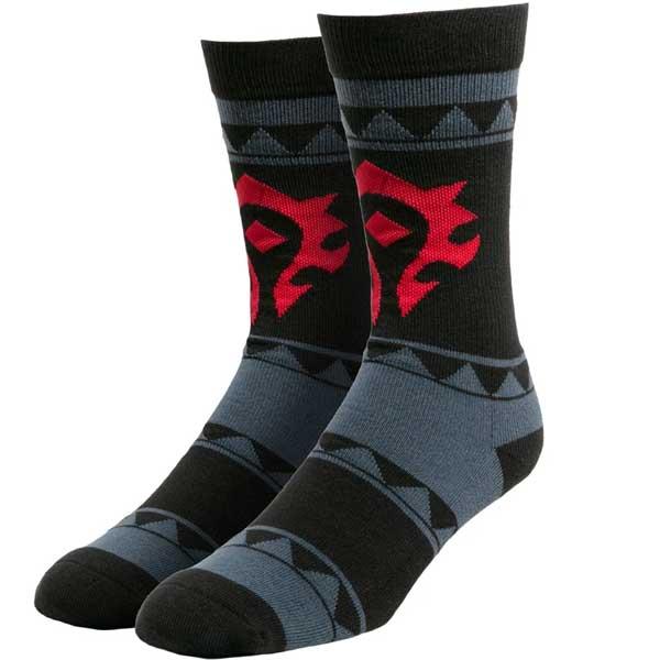 Ponožky Casual Horde (World of Warcraft)