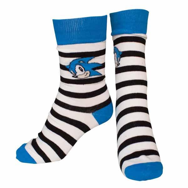 Ponožky Nintendo - Sonic Striped 43/46