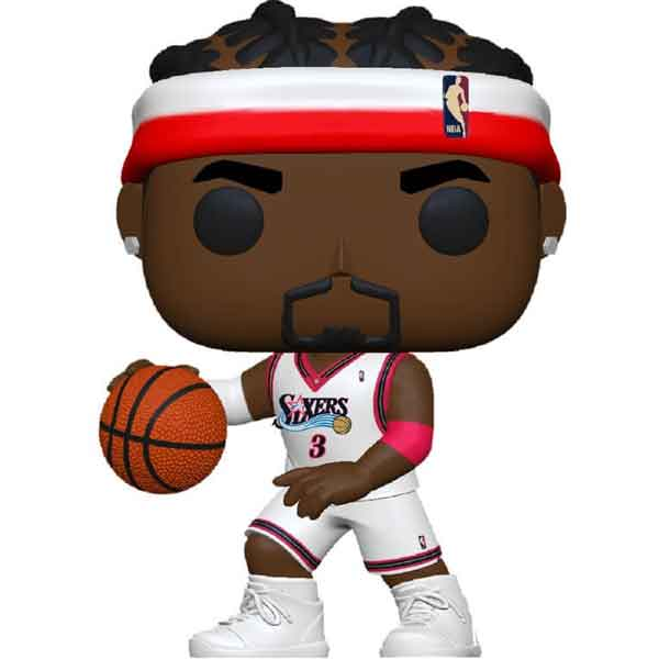 POP! Basketball: Allen Iverson Sixers Home (NBA Legends)