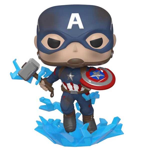 POP! Captain America with Broken Shield and Mjölnir (Avengers Endgame)