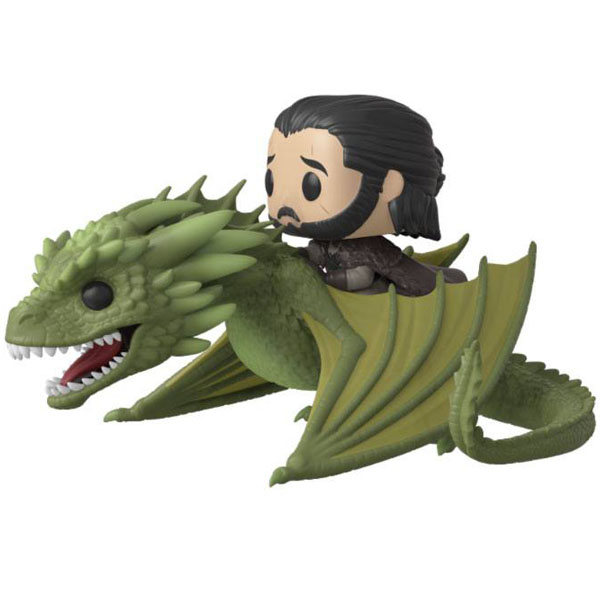 POP! Riders: Jon Snow with Rhaegal (Game of Thrones) 18 cm POP-0067