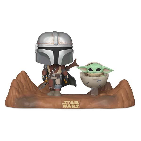 POP! Mandolorian with the Child (Star Wars The Mandalorian)