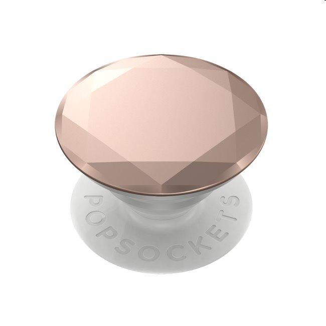 PopSockets univerzálny držiak PopGrip Metallic Diamond Rose Gold