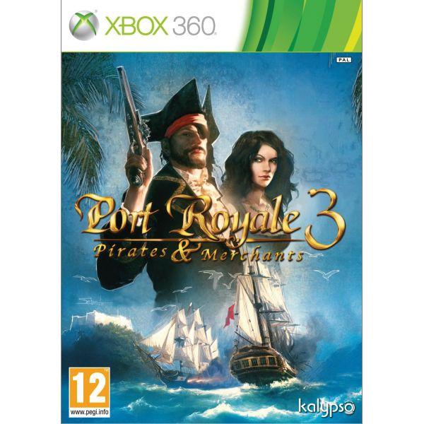 Port Royale 3: Pirates & Merchants [XBOX 360] - BAZÁR (použitý tovar)