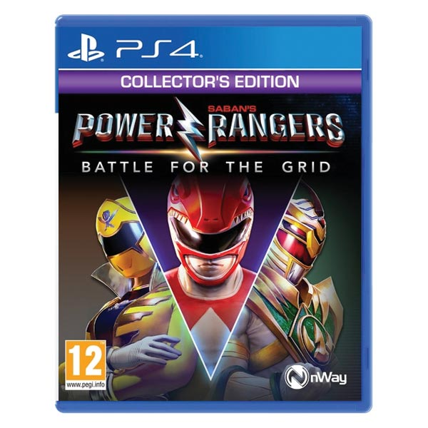 Power Rangers: Battle for the Grid (Collector's Edition) PS4