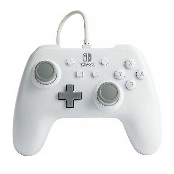 PowerA Enhanced Wired Controller for Nintendo Switch, white