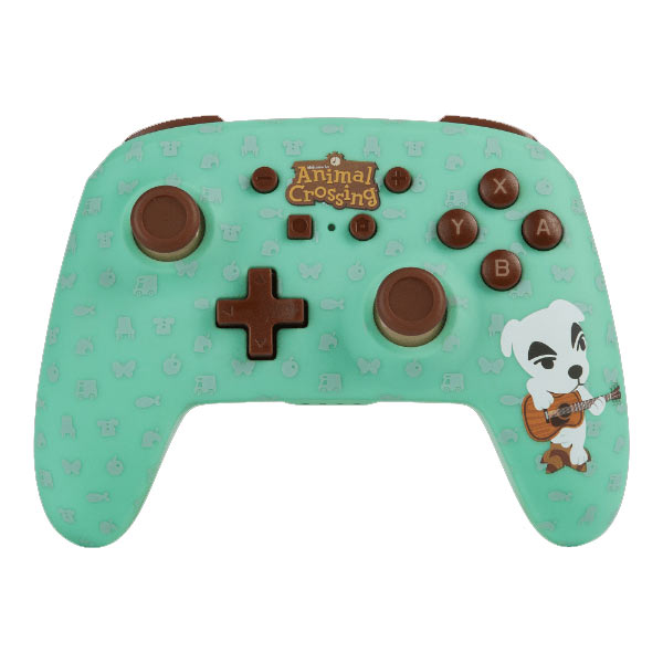 PowerA Enhanced Wireless Controller - Animal Crossing: K.K. Slider for Nintendo Switch