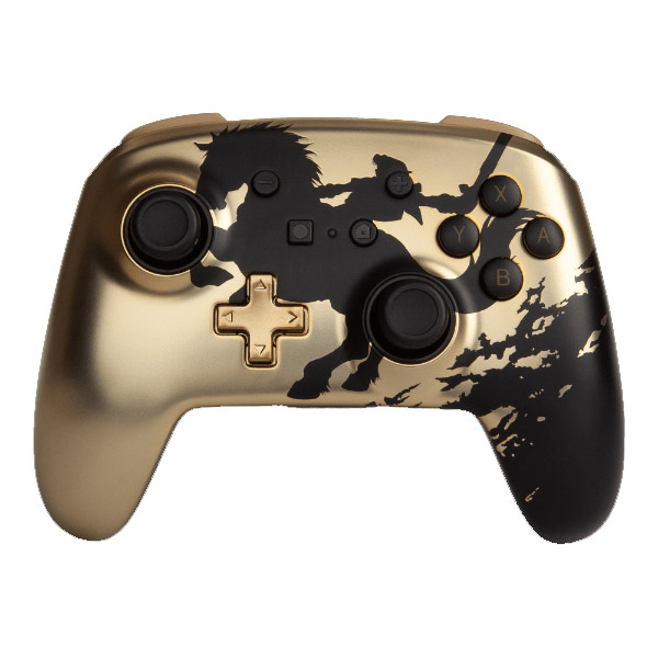 PowerA Enhanced Wireless Controller - Gold Rider for Nintendo Switch