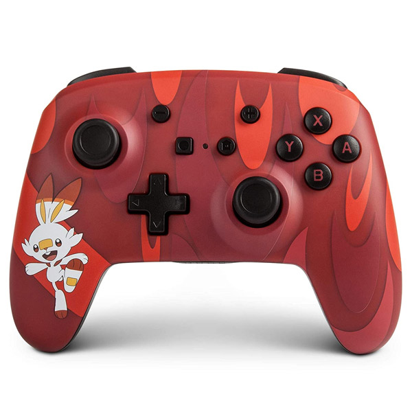 PowerA Enhanced Wireless Controller - Pokemon Scorbunny for Nintendo Switch POW-022081