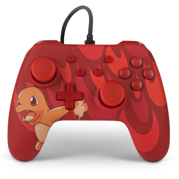 PowerA Wired Controller - Blaze Charmander for Nintendo Switch