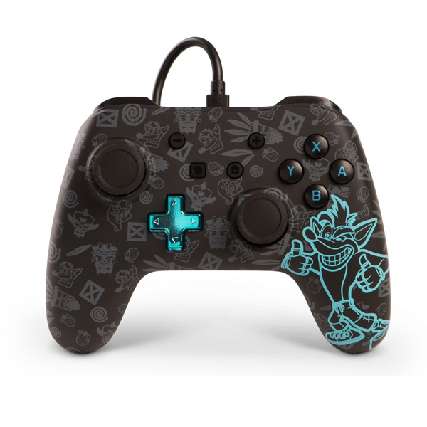 PowerA Wired Controller - Crash Bandicoot for Nintendo Switch