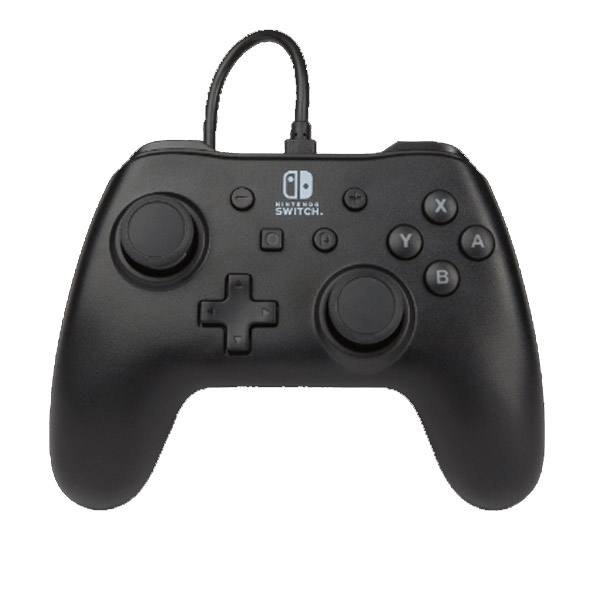 PowerA Wired Controller - Matte Black for Nintendo Switch