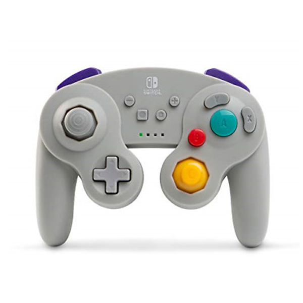 PowerA Wireless Controller - GameCube Style for Nintendo Switch, gray