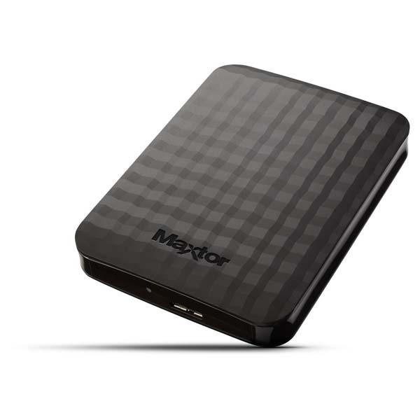 "Prenosný HDD Maxtor M3 Portable 2.5"", 2000 GB, USB 3.0, Black"