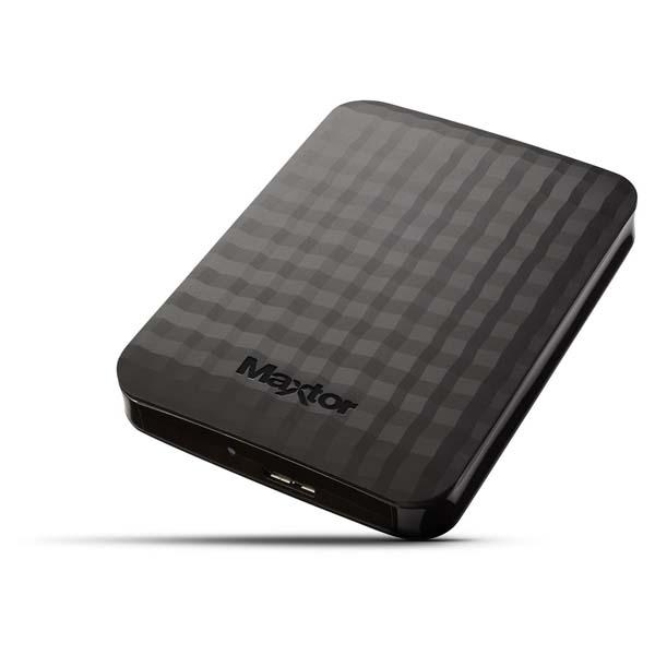 "Prenosný HDD Maxtor M3 Portable 2.5"", 500 GB, USB 3.0, Black"