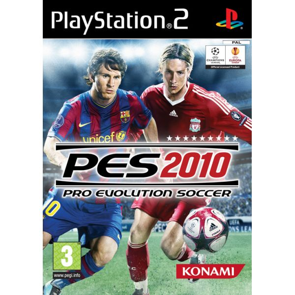 Pro Evolution Soccer 2010 [PS2] - BAZÁR (použitý tovar)